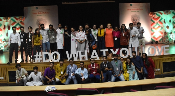 happiness team, Young India Challenge