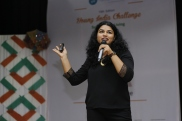 Nida Hasan, Country Head of Change.org, India at 10th Edition, Young India Challenge